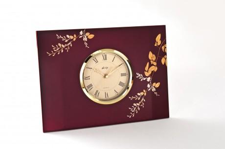 玉虫塗 パネル時計