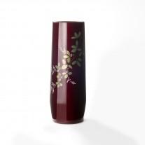 玉虫塗 胴張花瓶